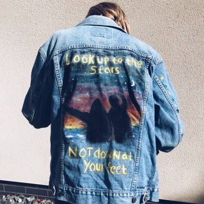 Hand painted Jacket