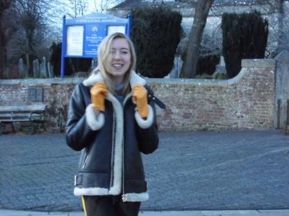 John Lewis Yellow Gloves